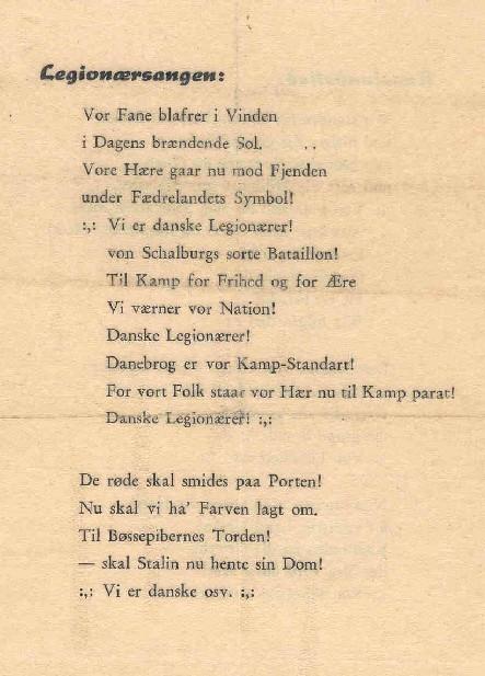 sange på dansk
